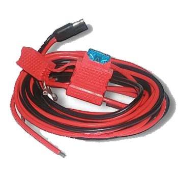 vue du MOTOROLA Câble d'alimentation pour séries CM GM DM