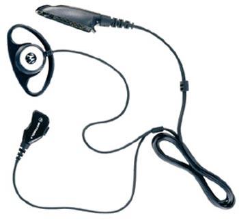 vue du MOTOROLA Micro-cravate avec tour d'oreille GP