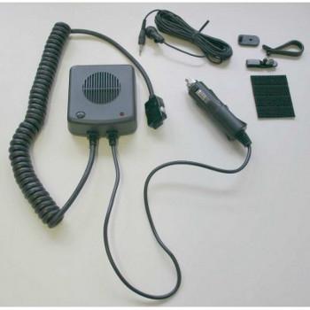 vue du ECOM Car Kit pour téléphones ECOM