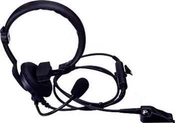 vue du KENWOOD Micro casque léger avec PTT TK-2140_2180
