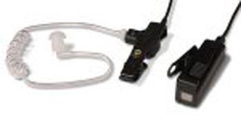 vue du MOTOROLA Micro-oreillette noire + tube accoustique GP