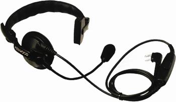 vue du KENWOOD Micro casque léger sans PTT 1 écouteur KW 2202_2160_2170