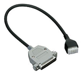 vue du KENWOOD Connecteur câble pour interface extérieur-16PIN TK-7180