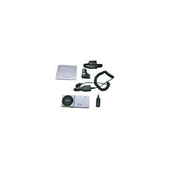 vue du ECOM Car Kit bluetooth pour téléphones ECOM