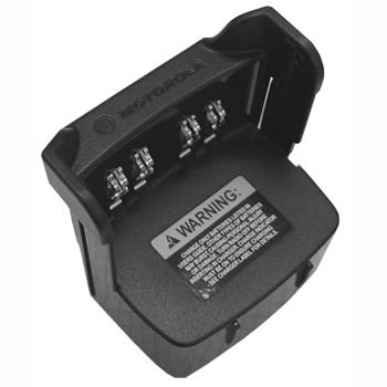 vue du MOTOROLA Adaptateur chargeur 6 cases pour poste IP67 GP344R-388R