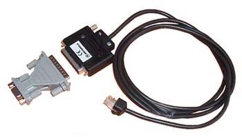vue du MOTOROLA Câble de programmation de mobile (sans RIB) CM & GM