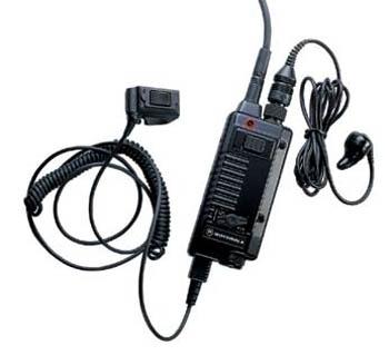 vue du MOTOROLA Microphone auriculaire avec alternat CP