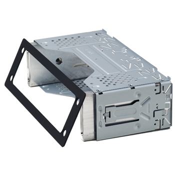 vue du KENWOOD Intégration chassis DIN pour séries TK NX