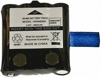 vue du MOTOROLA Batterie Ni-MH XTR446