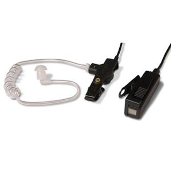 vue du MOTOROLA Micro-oreillette noir avec tube accoustique GP344-388
